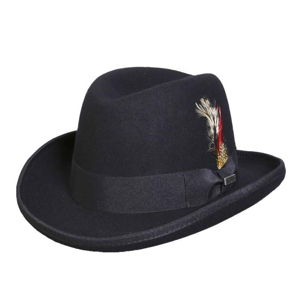 Men's Homburg hat