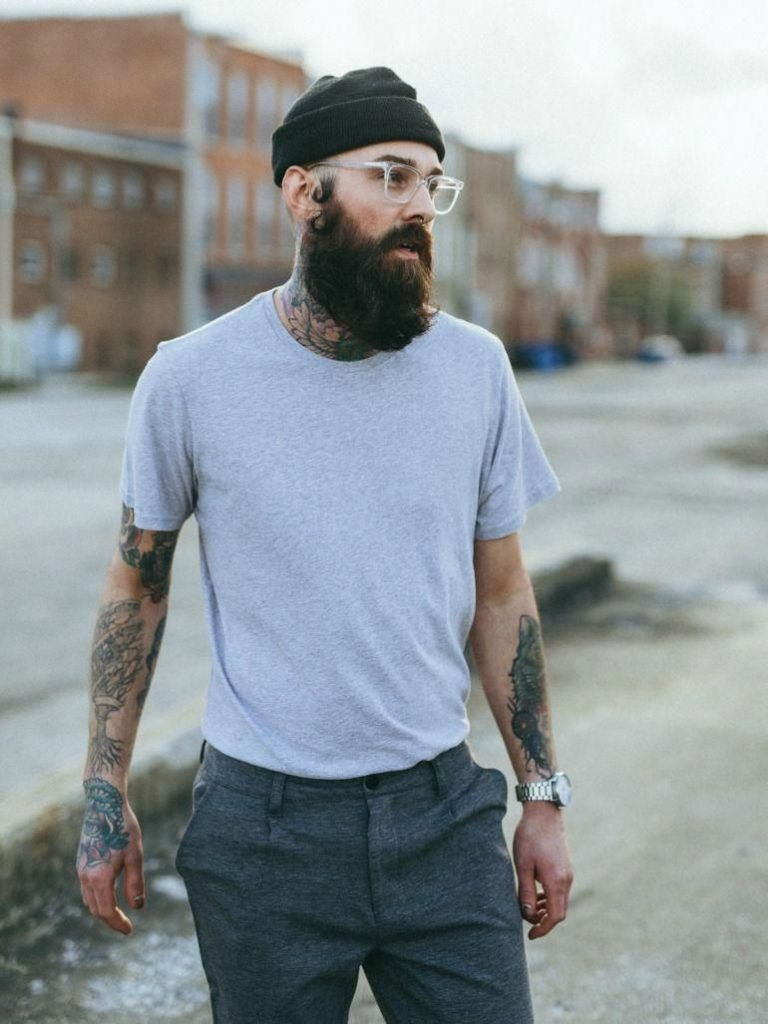 beanie hipster look