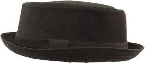 men's porkpie sun hat
