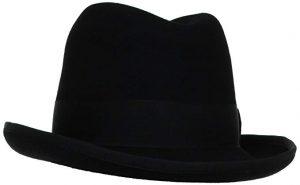 stacy adams men's homburg hat