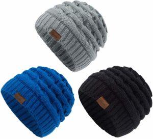 ViGrace kids winter knit hat