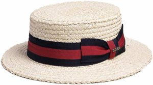 Bellmora men's boater hat