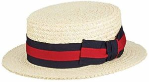 Scala men's boater hat
