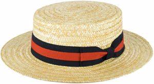 Zakira boater hat