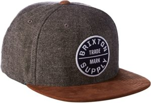 Brixton adjustable snapback hat