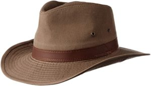 Dorfman Pacific Twill Outback Hat