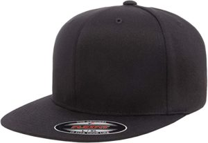 Flexfit baseball flat bill cap