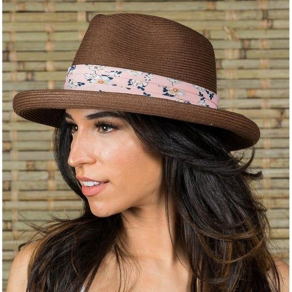 Roll-up brim hat